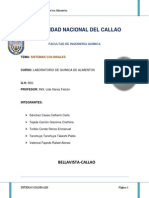 SISTEMAS COLOIDALES (1)
