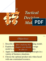 Tactical Decision Making