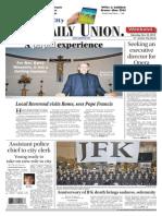 The Daily Union. November 23, 2013