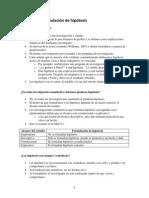 Capítulo 6 Formulación de hipótesis