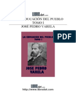 Educacion Del Pueblo - Tomo 1[1]