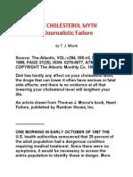 Cholesterol Myth a Journalistic Failure