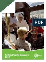 Perfil del Turista Extranjero 2012