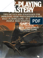 Gary Gygax - Role-Playing Mastery (1987)