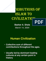 Contributions of Islam to Civilization