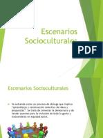 Escenarios Socioculturales
