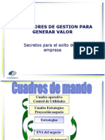 Charla # 7- Indicadores de Gestin Para Generar Valor.ppt.Pptx
