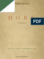 Tudor Arghezi Hore