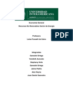 Economía General recursos naturales