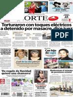 Periódico Norte de Ciudad Juarez 23 de Noviembre de 2013