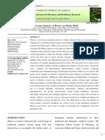 Jurnal of Hibiscus Rosasinensis