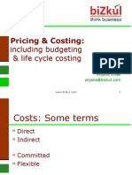 Pricing and Costing