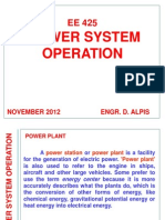 Power System Operations