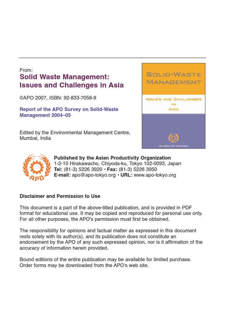Solis Waste Management Article Ques 1 Peci By Beringin Jaya Pad