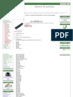 Acheter Batterie Pour Samsung AA-PB2NC6B, AA-PB2NC6BE Batterie PC Portable Online