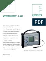 Defectometer 2.837