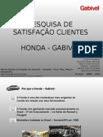 Pesquisa Cliente Honda