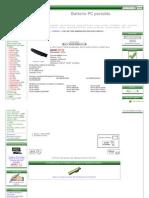 Acheter Batterie Pour Samsung ND10-DA05, NC20-21GBK Batterie PC Portable Online