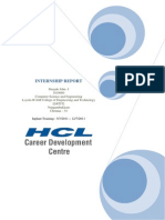Project ASES - HCL Internship