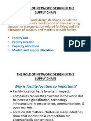 The Role of Network Design in the Supply Chain | United Automobile