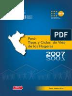 INEI Peru Tipos y Ciclos de Vida Hogares