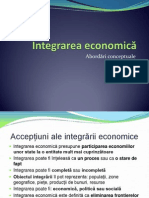 Integrarea Economica