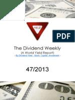 Dividend Weekly 47_2013