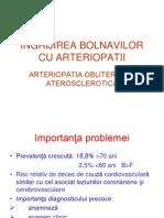 +Ängrijirea bolnavilor cu arteriopatii