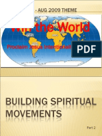Building Spiritual Movements - Session 2