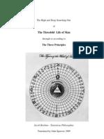 Jacob Boehme - Threefold Life of Man - text plus figures