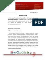 2º Circular - II Jornadas Forestales 2013