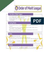 Order of Merit Poster