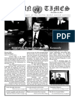 BERMUN Times Saturday November 23, 2013