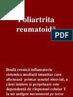 Curs Nr 7 Poliartrita Reumatoida 2013