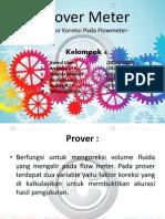 Prover Meter