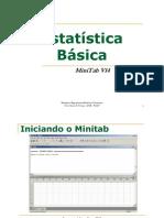 Estatística Experimental Minitab