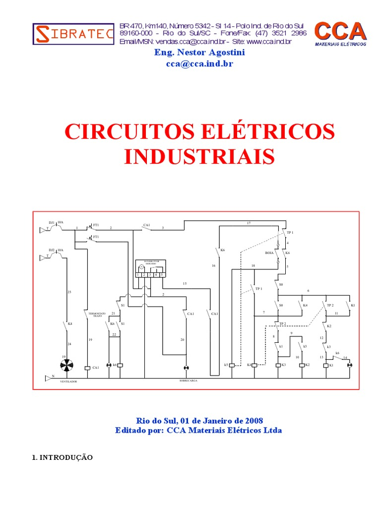 Circuito Eletricos : Circuitos elétricos industriais sibratec