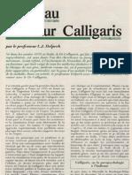 L. J. Delpech - Visite au docteur Calligaris