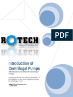 Introduction of Centrifugal Pumps