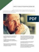Systeme Anti-fugue RFID pour Maisons de Retraite