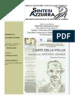 Associazione SINTESI AZZURRA Newsletter