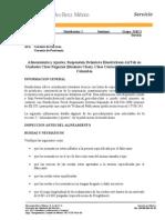 Alineamiento y Ajustes, Suspensión Delantera Hendrickson AirTek en Unidades Clase Negocios (Business Class), Clase Century Convencional y Columbia