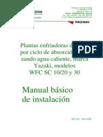 Manual básico de Instalación WFC SC