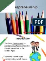 Entrepreneurship Unit 1 PPT