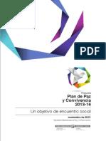 Plan de Paz y Convivencia (22 de noviembre de 2013)