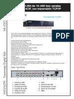 Catalogo Hk Ds7216hvi St Sn