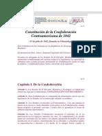 Constitucion de 1842