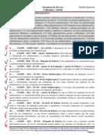 2ª Bateria - Atos Administrativo e Respons. Civil - GABARITO