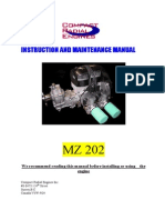MZ Instruction and maintenance manual