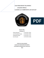 Rencana Strategis Dan Performa Finansial